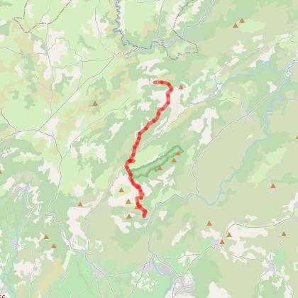 Les Natges-Saint Guilhem du Désert  18,4 Kms +481 -848