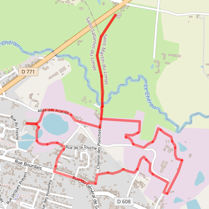 Circuit des Ardoisières et de la Côte de Rochepoulain