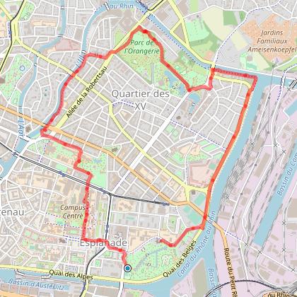 Marche pour la vue 2018 à Strasbourg