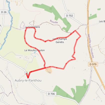 Le Chemin des Sages (village d'Aubry-le-Panthou)