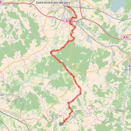 De Troyes à la Bourgogne