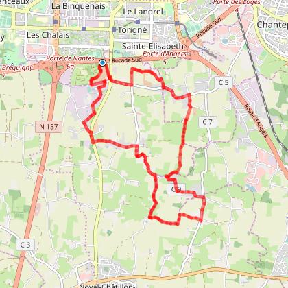 Rennes - Bintinais