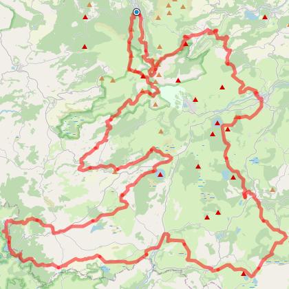 Le tour des lacs d'Auvergne