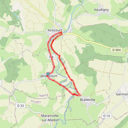 Balade à cheval en Saintois, Meurthe-et-Moselle