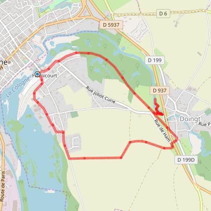 Rando Santé - FLAMICOURT - Le Doigt de Gargantua - 5,8 Kms