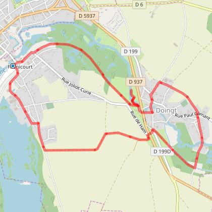 Rando Santé + - FLAMICOURT - Le Grand Marais - 8 Kms