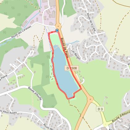 Parcours de santé Domaine du Tornet