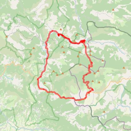 Circuit découverte La Charce-Gorges de Pommerol-Rosan-Rémuzat-Cornillon sur L'Oule-La Motte Chalancon