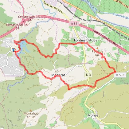 La Cavayere-Montirat- Salleles d'Aude