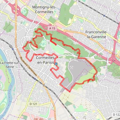 Rando Cormeillaises 15 km 2019