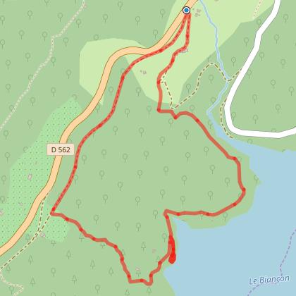 Petite boucle à proximité du lac