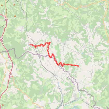 GRP Midi Corrézien - Etape 6 : de Branceilles à Turenne