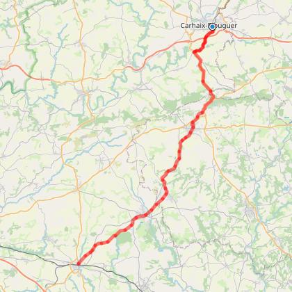 V7 Carhaix-Rosporden