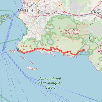 Rando Marseille - Cassis