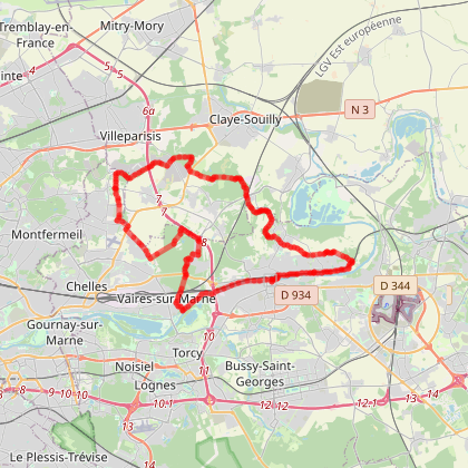 Entre Marne et forêt à vélo
