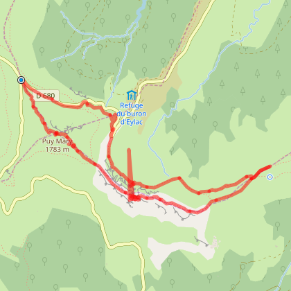 Cantal : Pas de Peyrol - Puy Mary - Brèche de Rolland
