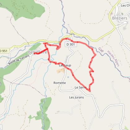 """Itinéraire rando """"Le tour du village"""""""