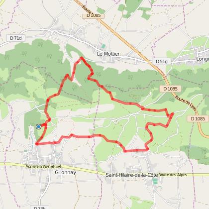 Gillonnay : Sentier médiéval de Boscozel
