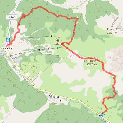 Tour du Queyras 1 - L'Echalp, Abriès