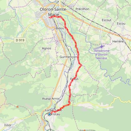 Lurbe-St-Christau - Oloron-Sainte-Marie