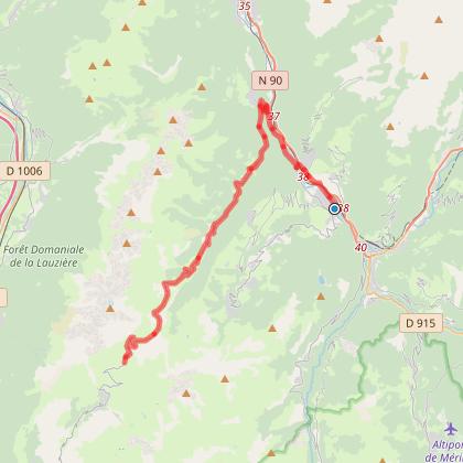 Aigueblanche - Col de la Madeleine