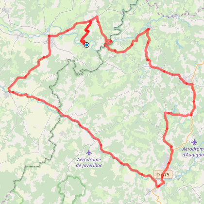 Chambon Station - Circuit Marges du Périgord (3) - Cyclotourisme