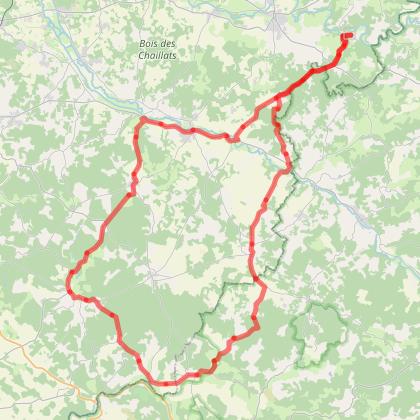 Chambon Station - Circuit Pays d'Horte (2) - Cyclotourisme