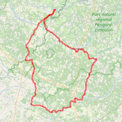 Chambon Station - Circuit Brantôme - Cyclotourisme