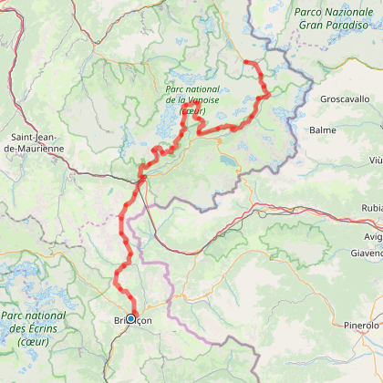 GR5 - Briançon - Val d'Isère