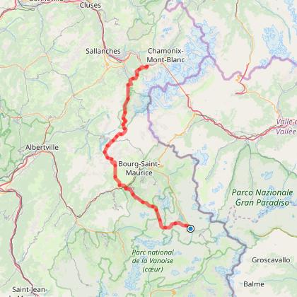 GR5 - Val d'Isère - Les Houches