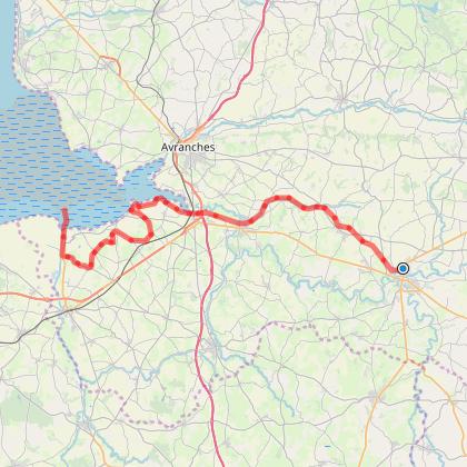 Saint-Hilaire-du-Harcouët to Mont-Saint-Michel