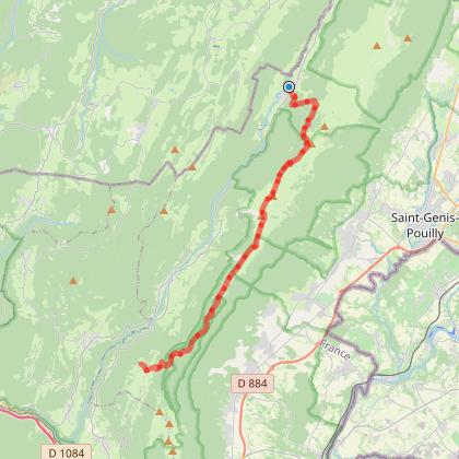 Mont Jura, étape 2 : Lelex - Menthières