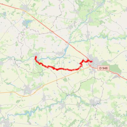 AIZENAY - Le Sentier Linéaire Aizenay Apremont
