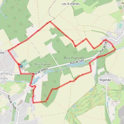 Villers-la-Ville: Balade du Châtelet
