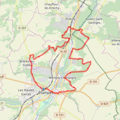 0246-*-De Etampes-AR-27,4km, +575m-(GA-RER-C-sud)-