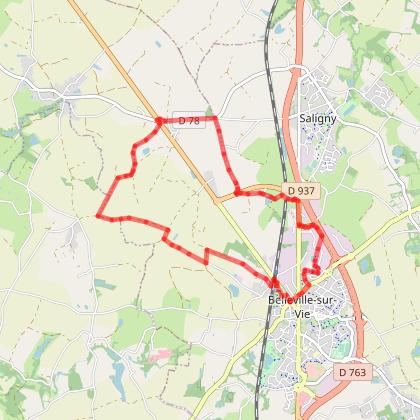 BELLEVIGNY - Du Recrédy à La Morandière