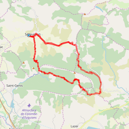 Le Tour de L'Aup à VTT