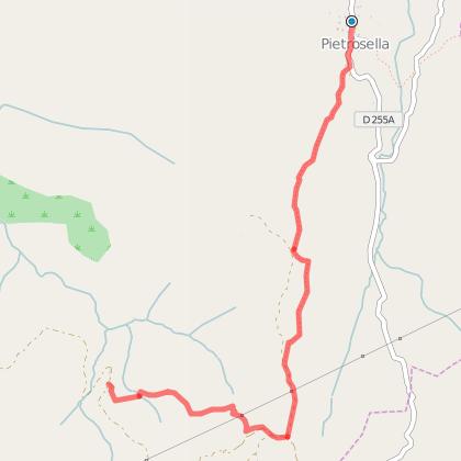Randonnée Pietrosella - Sant'Amanza