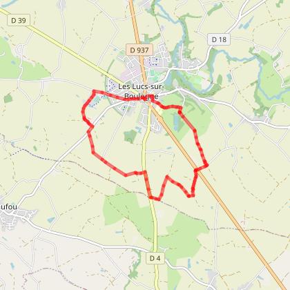 LES LUCS/BOULOGNE - Sentier cyclable 1
