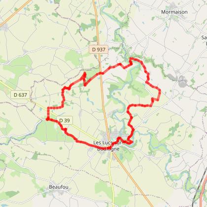 LES LUCS/BOULOGNE - Sentier cyclable 3