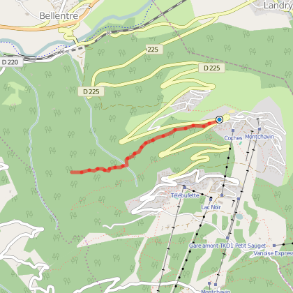 Itinéraire raquette : La Pierra
