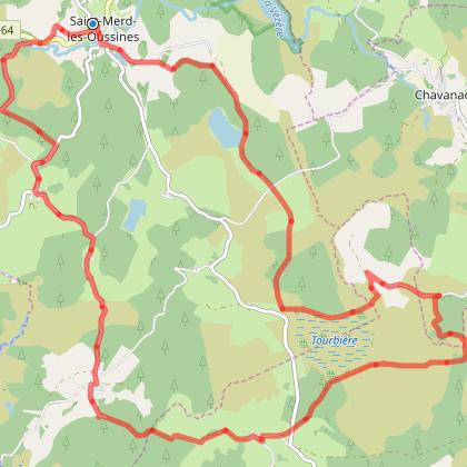 De-Saint-Merd-les-oussines-a -la-Tourbiere-du-Longeyroux