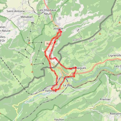 Doubs Rando' - La Jougnena - Jougne