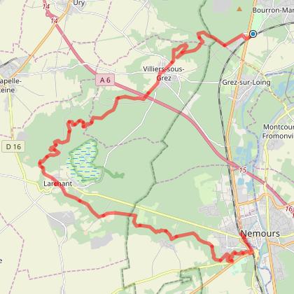 0291-De Bourron-Marlotte à Nemours-Saint-Pierre-27km+389m-(GL-LR)-