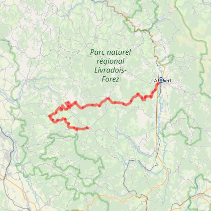 Tour du Livradois en 3 jours, étape 3