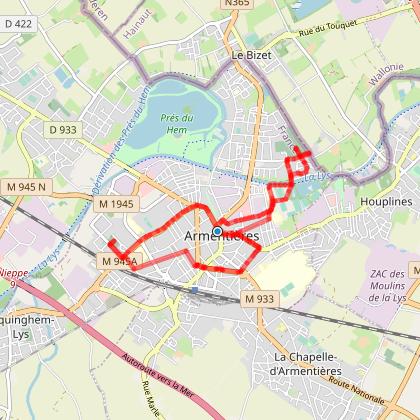 Deulys - promenade Armentières
