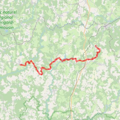 """Grande Boucle du Périgord Limousin: """" La vieille du puits """""""