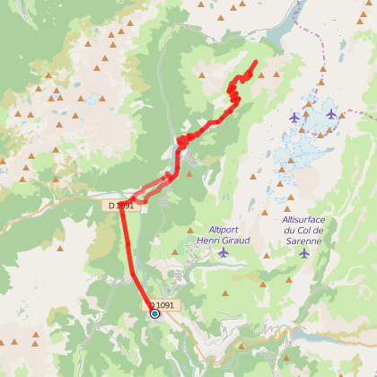 Vaujany et le Col du Sabot (n°11)