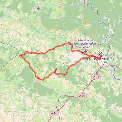 Balade autour de Charleville-Mézières