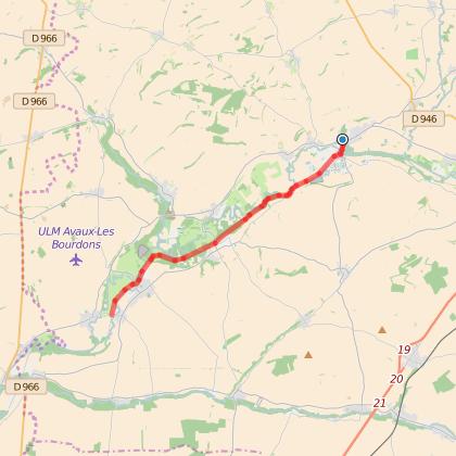 GR654 : Etape 5 de Château-Porcien à Vieux-lès-Asfeld